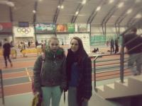 Mūsu meitenes Latvijas ziemas čempionātā vieglatlētikā