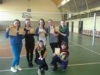 Mūsu meitenes starpnovadu volejbola sacensībās izcīna 1.vietu