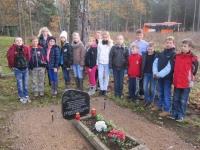 Sakopjam LKO kavaliera Jāņa Dižgalvja kapa vietu