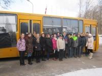 Mūsu skolēni apmeklē muzeobusu