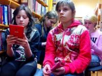 E-prasmju nedēļā 2015 apmeklējam Kalētu pagasta bibliotēku