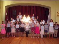 Mācību gada noslēgums Kalētu pamatskolā