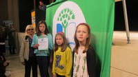 Pie mūsu skolas atkal plīvos Zaļais karogs
