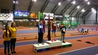 Mūsu sportisti Kuldīgas atklātajās sacensībās vieglatlētikā telpās
