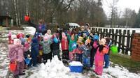 Sniega diena Kalētu pirmsskolā