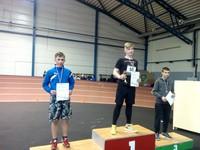 Ventspils novada Bērnu un jaunatnes sporta skolas atklātās sacensības vieglatlētikā telpās